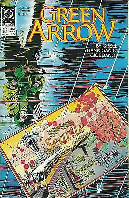 Green Arrow #16 (Dc) (1988 Series)