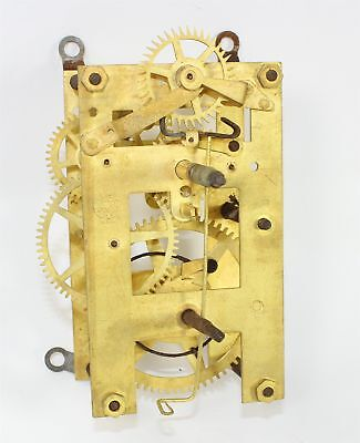 Vintage New Haven 8-Day Time Only Clock Movement - Parts Or Repair Ll213