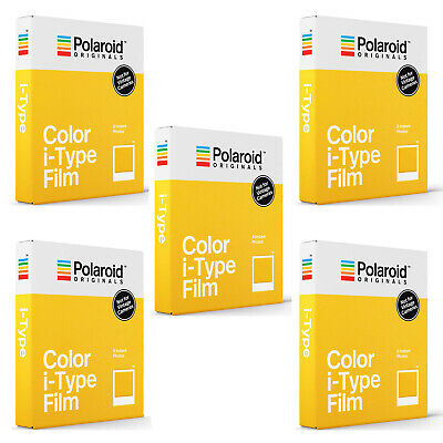 Polaroid Originals Standard Color Film for i-Type Cameras (5-Pack)