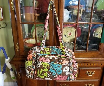 Vera Bradley Make a Change Diaper Bag Lola Pattern