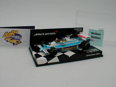 "Minichamps 537794397 McLaren FORD M28 USA West GP 1979 /"" John Watson /"" 1:43"