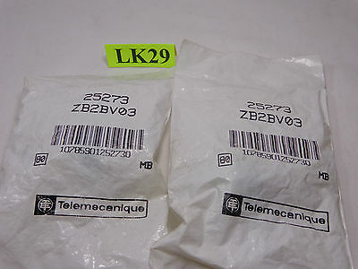 Lot Of 2 Telemecanique Button Start Green New Ships Free Zb2Bv03 Zb2 Bv03 25273