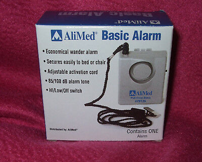 AliMed Basic Pull-Pin Alarm #78125  Connect to Wheel Chairs or Beds New!