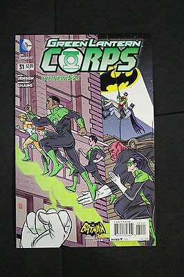 Green Lantern Corps #31 Mike Allred Batman 66 Incentive Variant Edition Cover