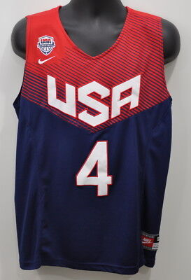 8837c4a5be5e Nike USA Basketball Dream Team Stephen Curry  4 Steph Mens Jersey NBA Size  Small