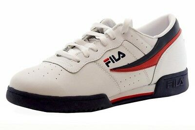 cfaaab0b4320 FILA MEN S ORIGINAL Fitness White Navy Red Sneakers Shoes -  59.95 ...