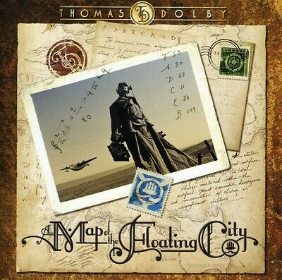 Thomas Dolby - Map of the Floating City [New CD] Jewel Case Packaging