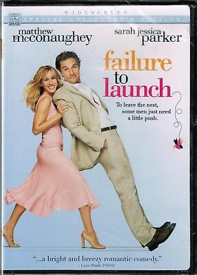 Failure To Launch  - McConaughey - 2006 - DVD - Widescreen Collector's Edition