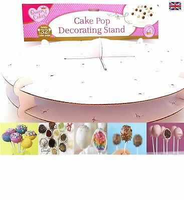 Cake Stand Hole Card Cake Pop Stand For 32 Lolly Pops Lollipop Display Cupcake