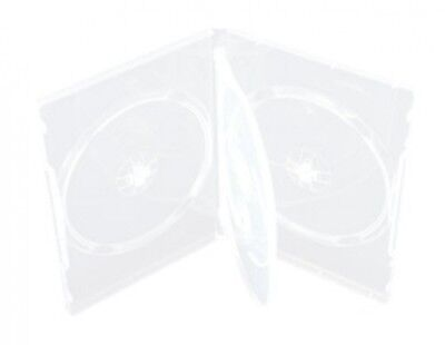 50 STANDARD Clear Quad 4 Disc DVD Cases