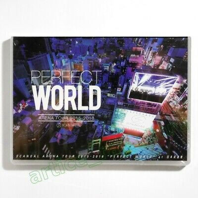 Scandal Arena Live 2015-2016 Perfect World Taiwan DVD 2016 NEW