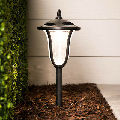 SET OF 2 - Portfolio Dusk to Dawn Solar LED Landscape Lighting w