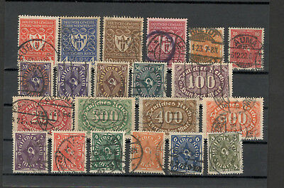 GERMANY REICH (Deutsches Reich)- NICE SELECTIO USED STAMPS-LOT 19