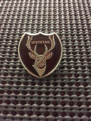 Empire Pewter Enameled Whitetail Deer Archery Pin