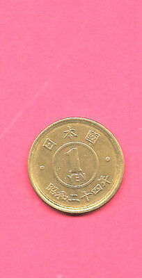 Japan Japanese Y70 1949 Xf-Super Fine-Nice Old Vintage Circulated Yen Coin