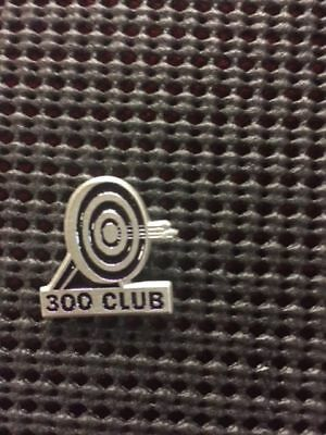 Empire Pewter Target Archery Pin 300 CLUB