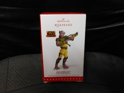 "Hallmark Keepsake ""Zeb Orrelios - Star Wars Rebels"" 2015 Ornament NEW"