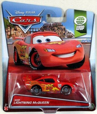 Disney Pixar Cars 2014 LIGHTNING McQUEEN WGP 1/15 Diecast 1:55 World Grand Prix