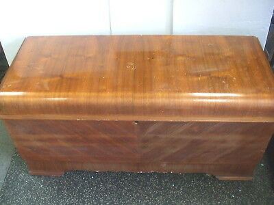 """Antique LANE Cedar Chest #482066 - 48""""L with Lock Removed - Used Nice Condition"""
