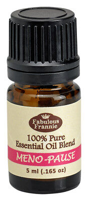 Meno-Pause 5ml Pure Essential Oil Blend BUY 3 GET1 by Fabulous Frannie