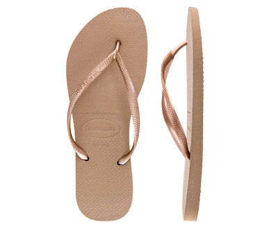 Havaianas Slim Metallic - Rose Gold