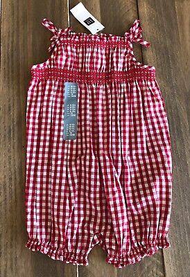 6a47aae05cf5 BABY GAP GIRLS 6-12 months One Piece Romper White And Gold -  6.00 ...