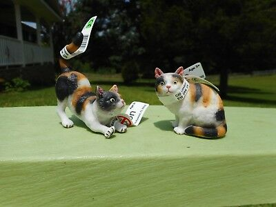 3-COLOR CATS by CollectA/ 88490/88491/toy/cat/RETIRED