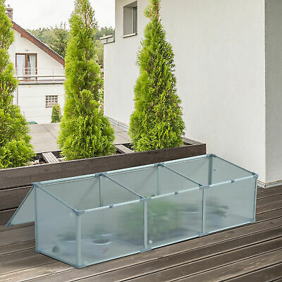 "71"" Cold Frame Greenhouse Plants Raised Bed Gardener Protection Outdoor"
