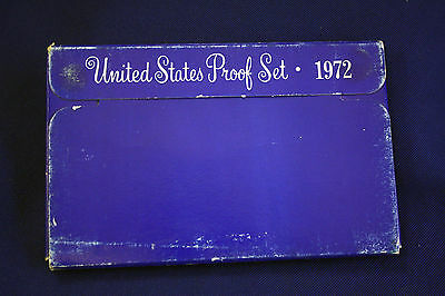 1972-s U.S.Proof set. Genuine. complete and original as issued by US Mint.