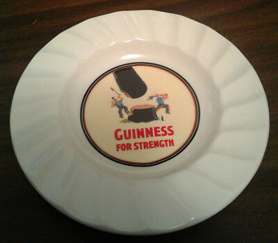 Vintage Guinness for Strength Woodcutters Plate, Carrigaline Pottery