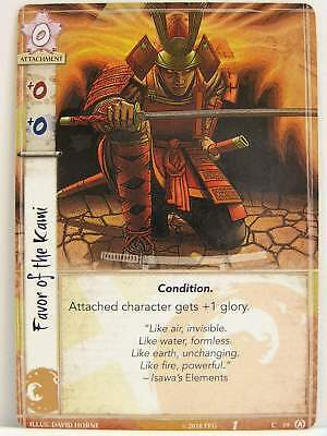 Legend of the Five Rings LCG - 1x #019 Favor of the Kami - Disciples of the Void