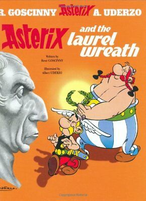 Asterix and the Laurel Wreath, Goscinny New 9780752866369 Fast Free Shipping..