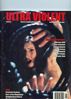 Ultra Violet Horror & Exploitation Cinema Issue 8, 2006 See My Store