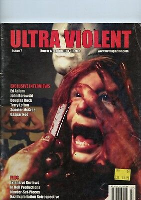 Ultra Violet Horror & Exploitation Cinema Issue 7, 2005 See My Store