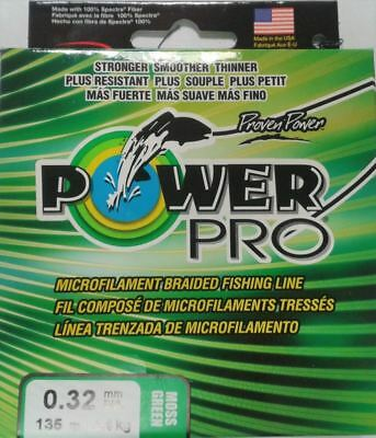 Power Pro Braid - Moss Green - 135M - Fishing Braid