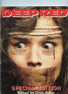 Deep Red 7 Special Edition VG- 3.5 1991 by Chas Balun See My Store