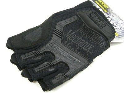Mechanix Wear Large L Covert Fingerless M-Pact Tactical Work Gloves MFL-55-010