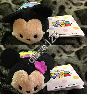 Disney Store Tsum Tsum Mickey & Minnie Mouse Hawaii EXCLUSIVE