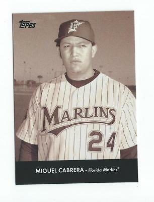 2008 Topps Trading Card History #TCH43 Miguel Cabrera Marlins