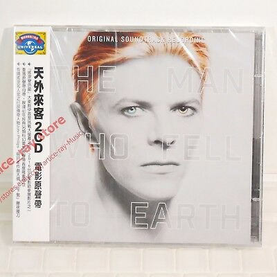 David Bowie The Man Who Fell to Earth Taiwan 2 CD w/OBI 2016 NEW