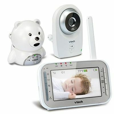 "VTech Baby Monitor VM341-216 Two Night Vision Cameras 4.3"" color LCD"