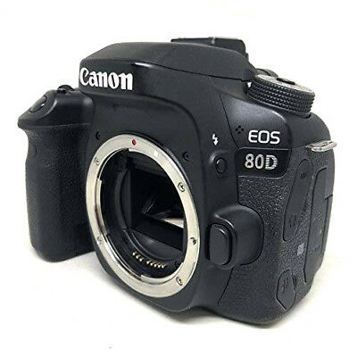 Canon EOS 80D Digital SLR Camera Body (Black) Shutter:168