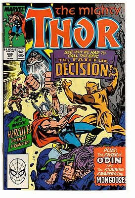 The Mighty Thor #408 - Marvel Comics 1989 - VF