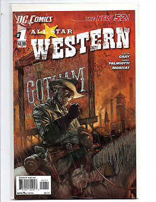 All Star Western Jonah Hex Dc New 52 Series Complete 0-34 Mint- Nm+ Clean Look