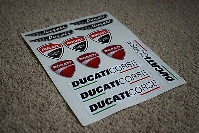 Ducati Corse Bike Motorbike Motorcycle Car Decal Stickers Logos Badges