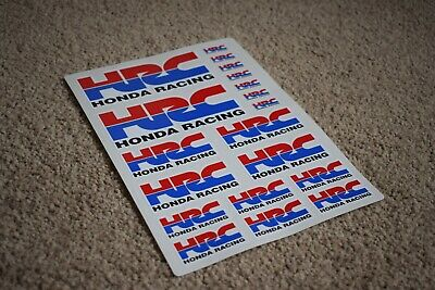 Honda HRC Racing Car Vehicle Logo Badge Racing Bike Decals Stickers