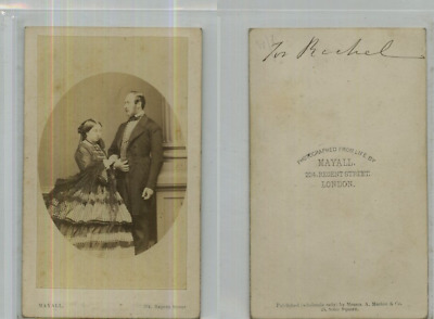 Mayall, Queen Victoria and Prince Albert of the United Kingdom  CDV vintage albu