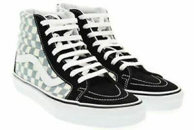 719eeb7141e19d Vans SK8 Hi Top Reissue (Checkerboard) Black Citadel Men s Women s Skate  Shoes