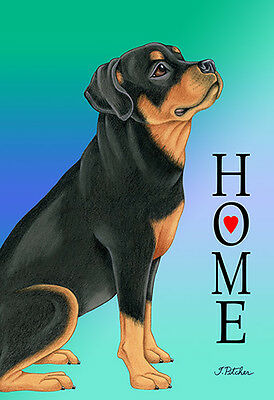 Large Indoor/Outdoor Home (TP) Flag - Rottweiler 62002