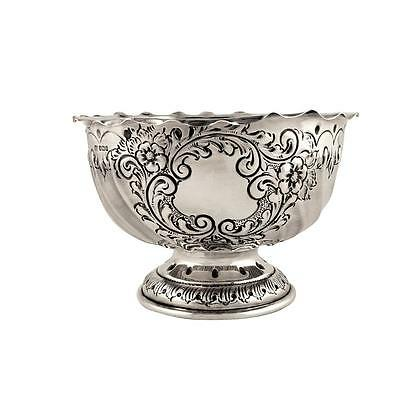 Antique Edwardian Sterling Silver Bowl - 1907